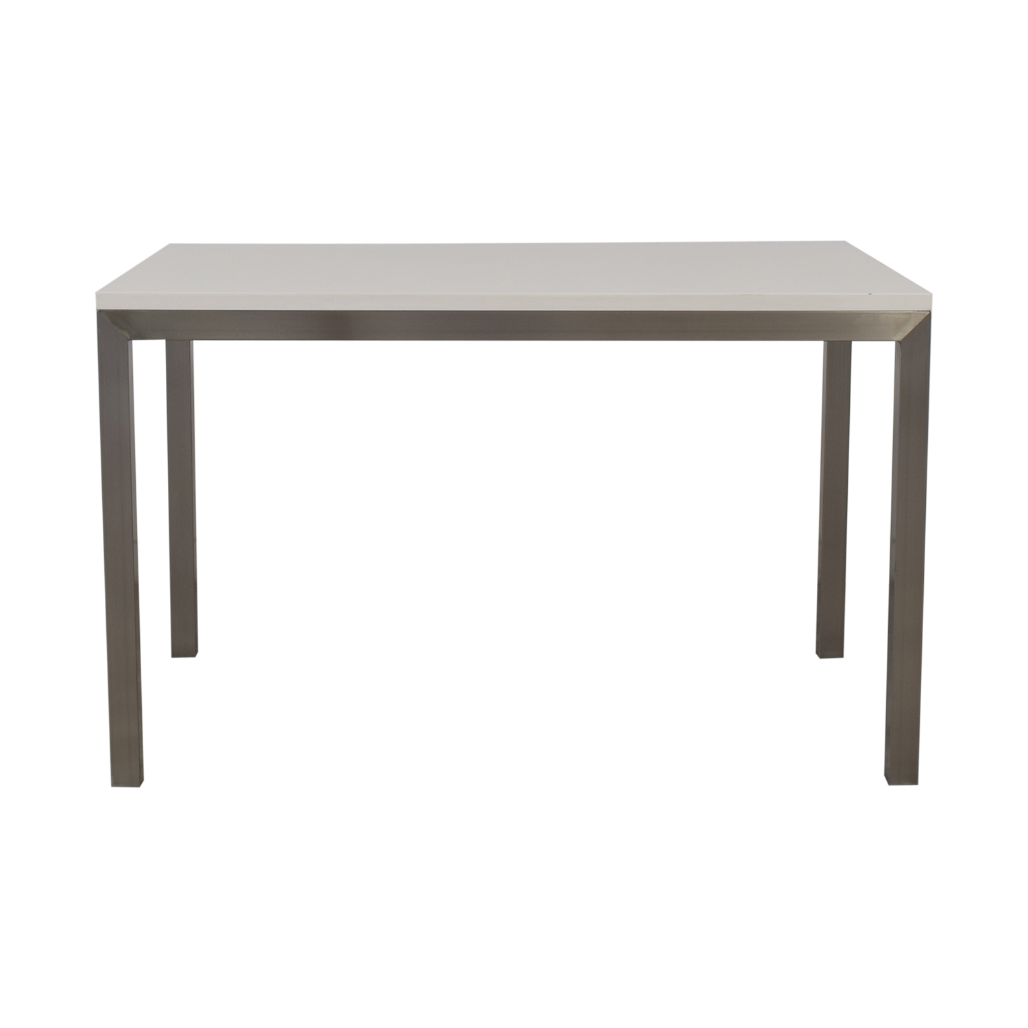 shop Crate & Barrel Parsons Dining Table Crate & Barrel