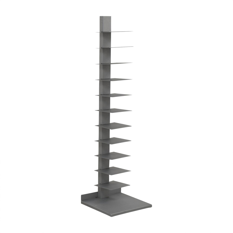 CB2 CB2 Spine Array Bookcase dimensions