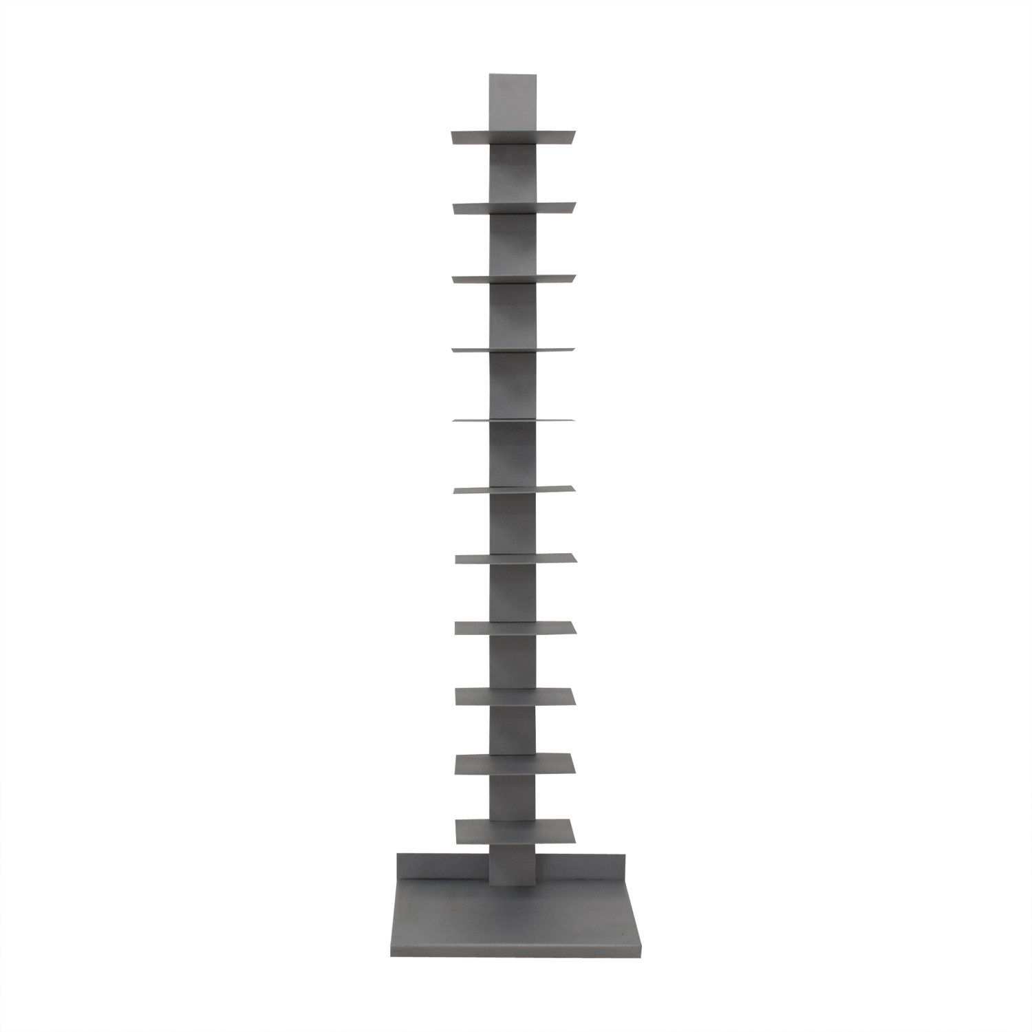 CB2 CB2 Spine Array Bookcase silver