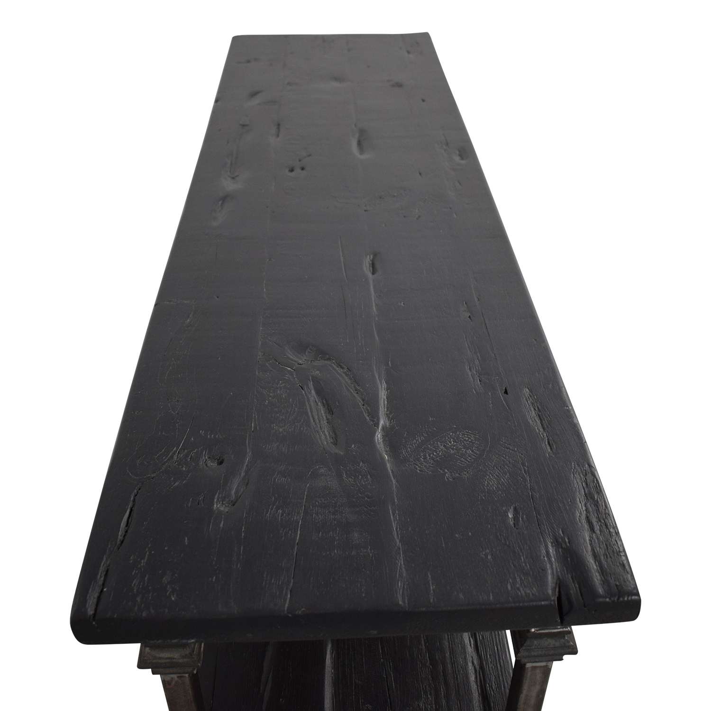 buy Restoration Hardware Salvage Baker's Console Restoration Hardware Accent Tables