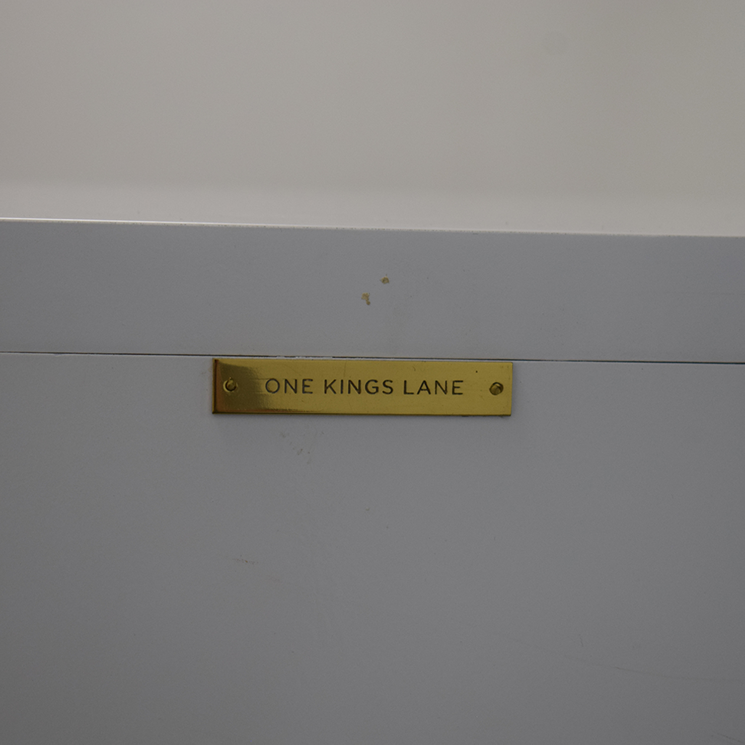 One Kings Lane One Kings Lane White Credenza second hand