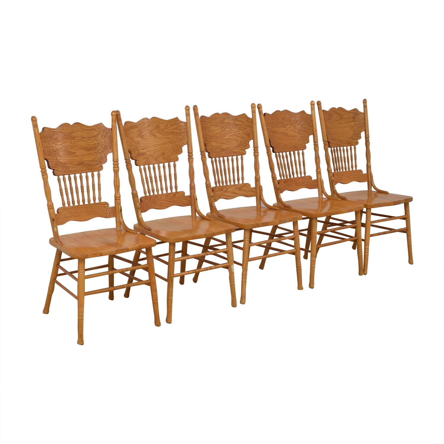 Wooden Dining Chairs second hand