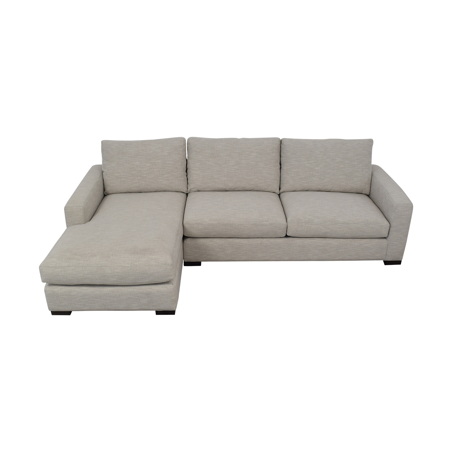 Room & Board Room & Board Metro Sofa with Chaise Sectionals