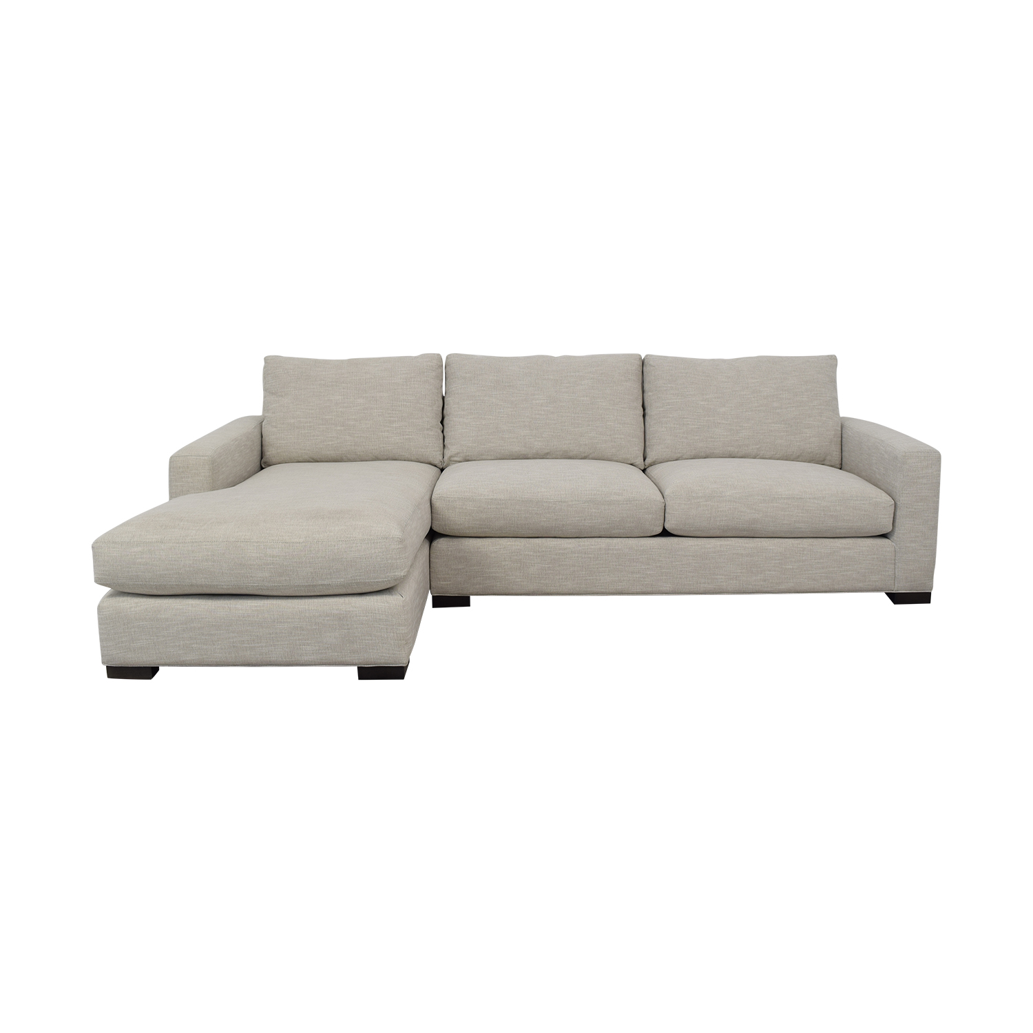 shop Room & Board Metro Sofa with Chaise Room & Board