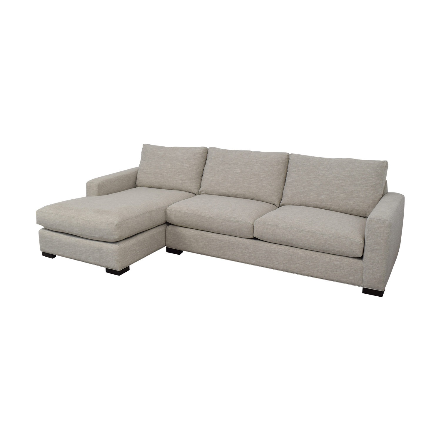 buy Room & Board Metro Sofa with Chaise Room & Board