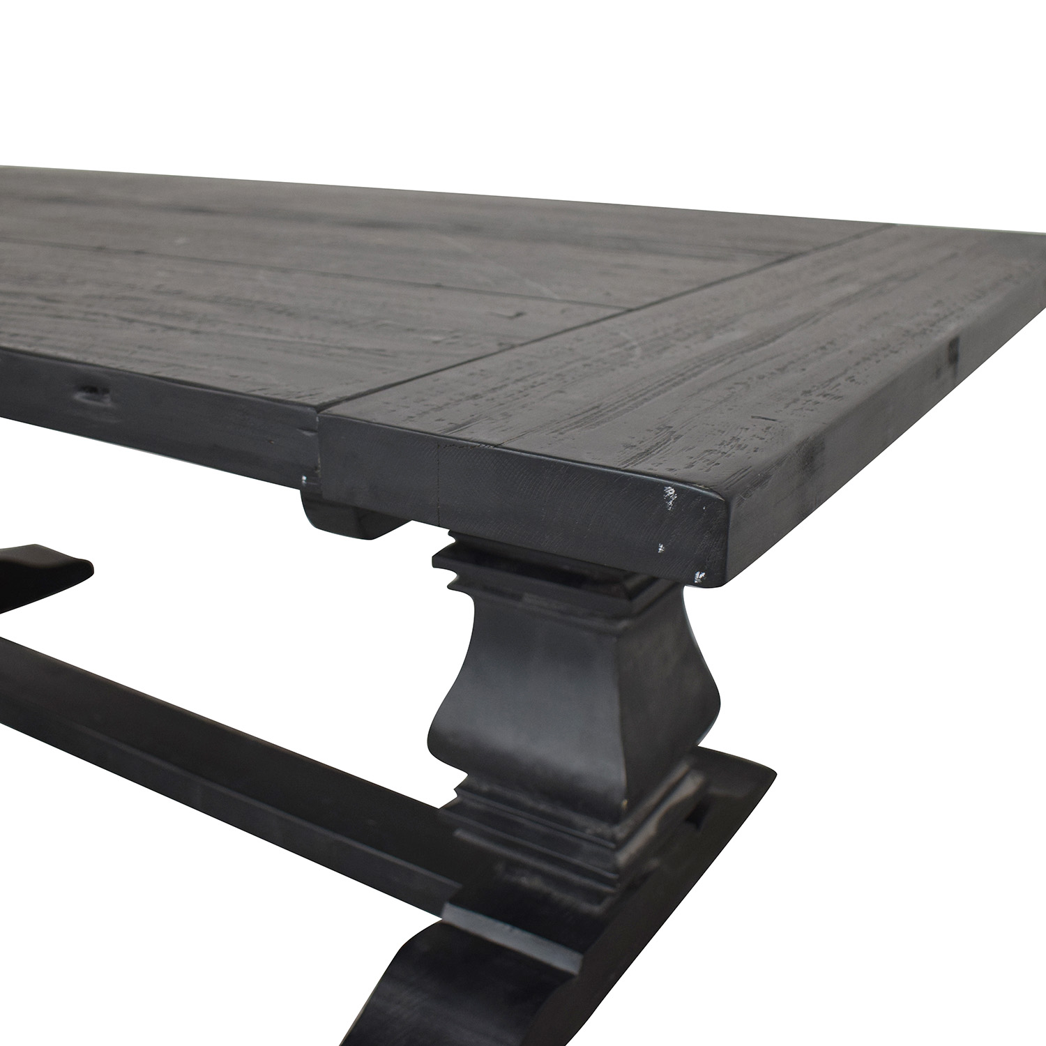shop Restoration Hardware Restoration Hardware Salvaged Wood Trestle Rectangular Extension Dining Table online