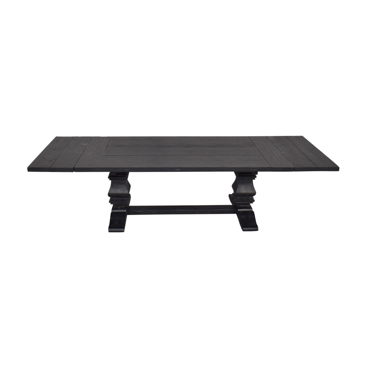 Restoration Hardware Restoration Hardware Salvaged Wood Trestle Rectangular Extension Dining Table coupon