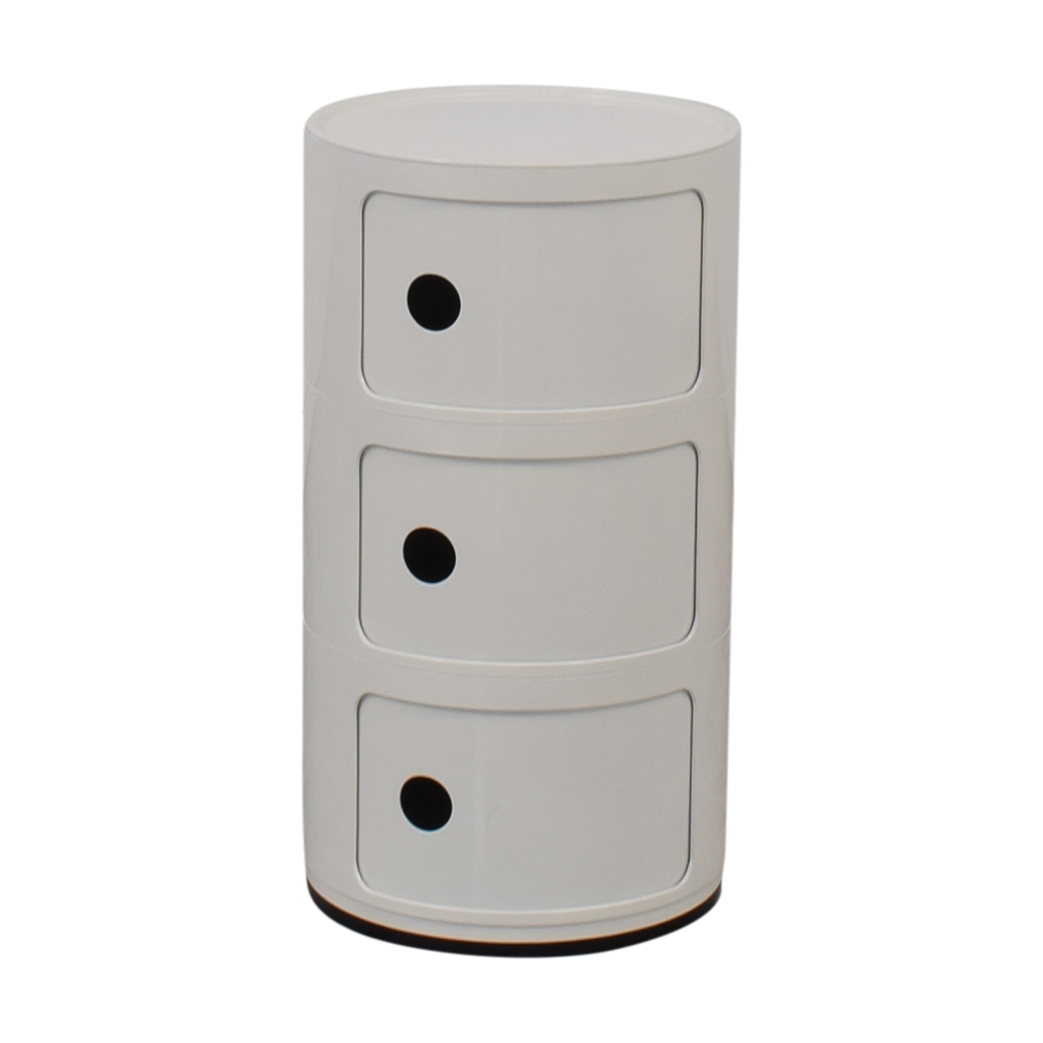 buy France and Son Mid Century Componibili Round France and Son End Tables