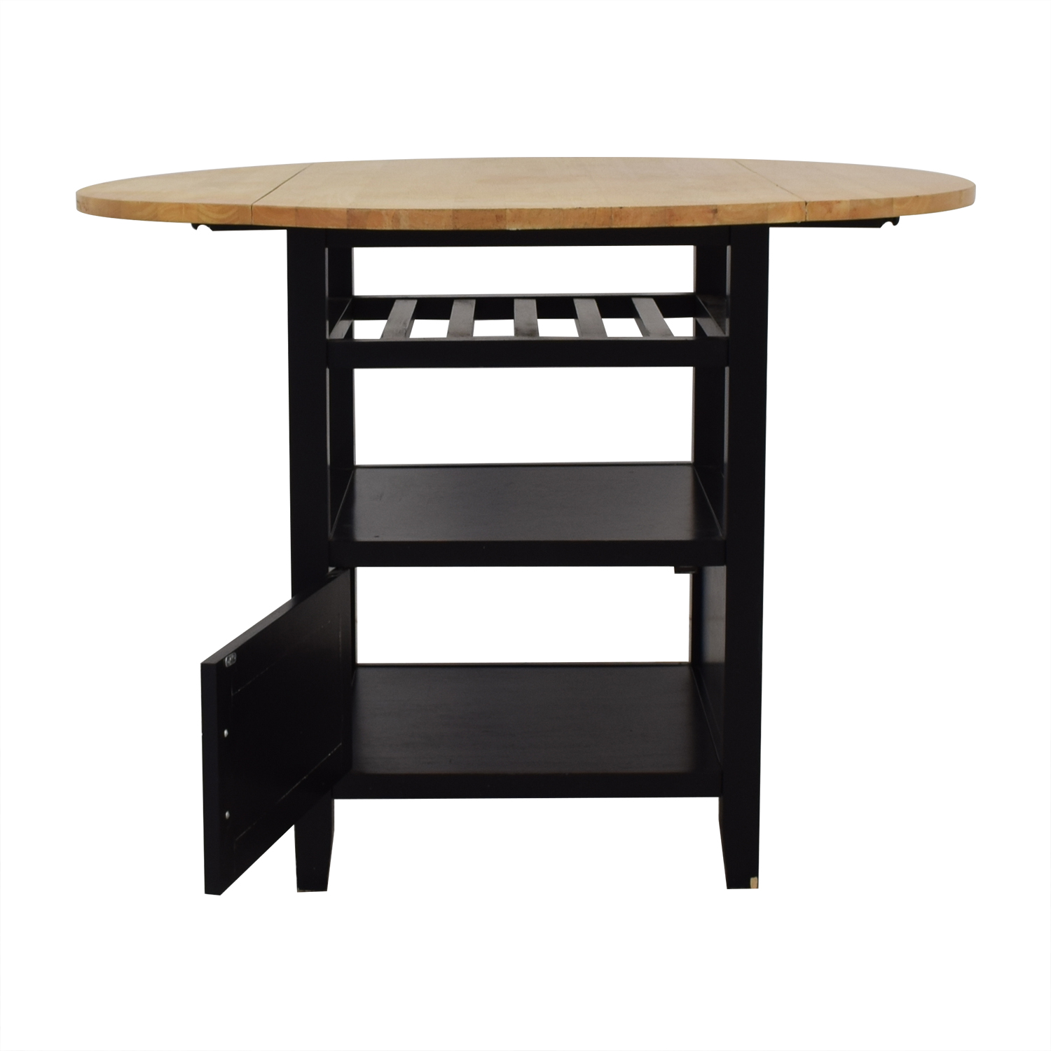 Crate & Barrel Crate & Barrel Belmont High Top Dining Table dimensions