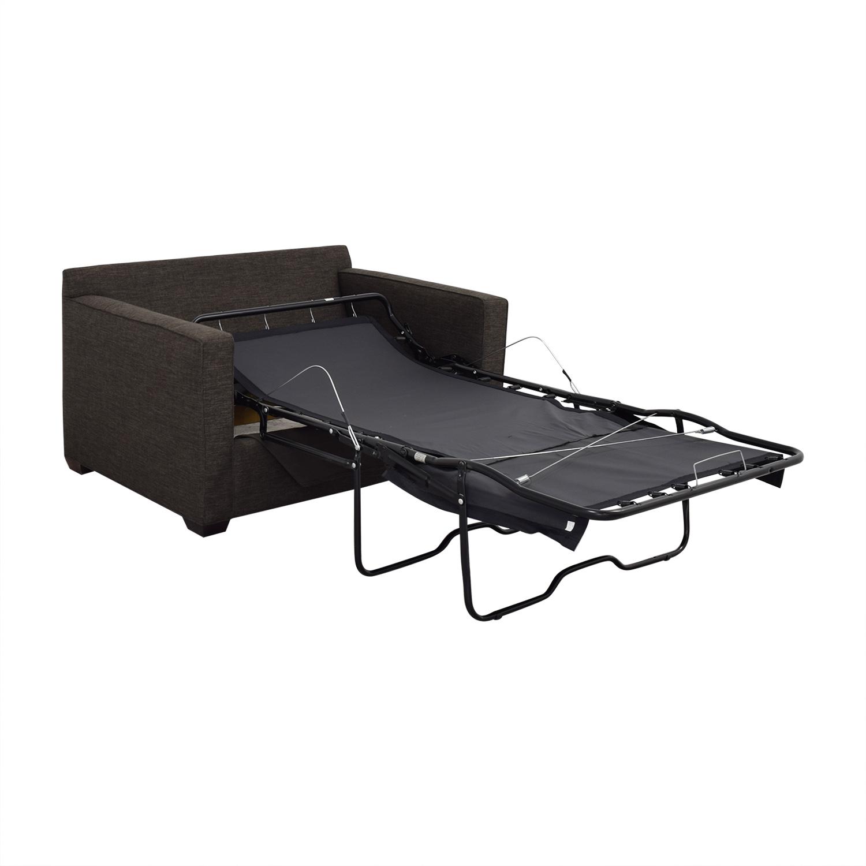 buy Crate & Barrel Crate & Barrel Davis Twin Sleeper Sofa online