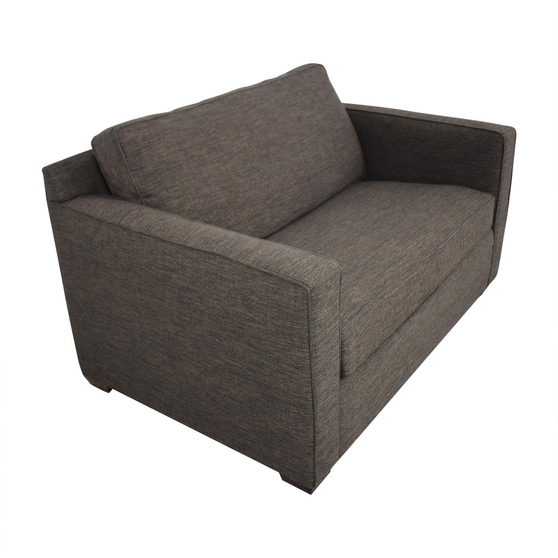 Strange 64 Off Crate Barrel Crate Barrel Davis Twin Sleeper Sofa Sofas Inzonedesignstudio Interior Chair Design Inzonedesignstudiocom