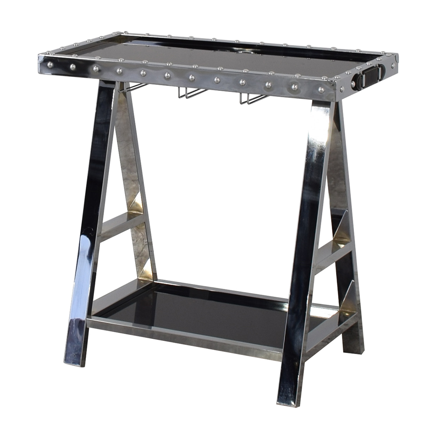 Z Gallerie Z Gallerie Flight Bar Cart nj