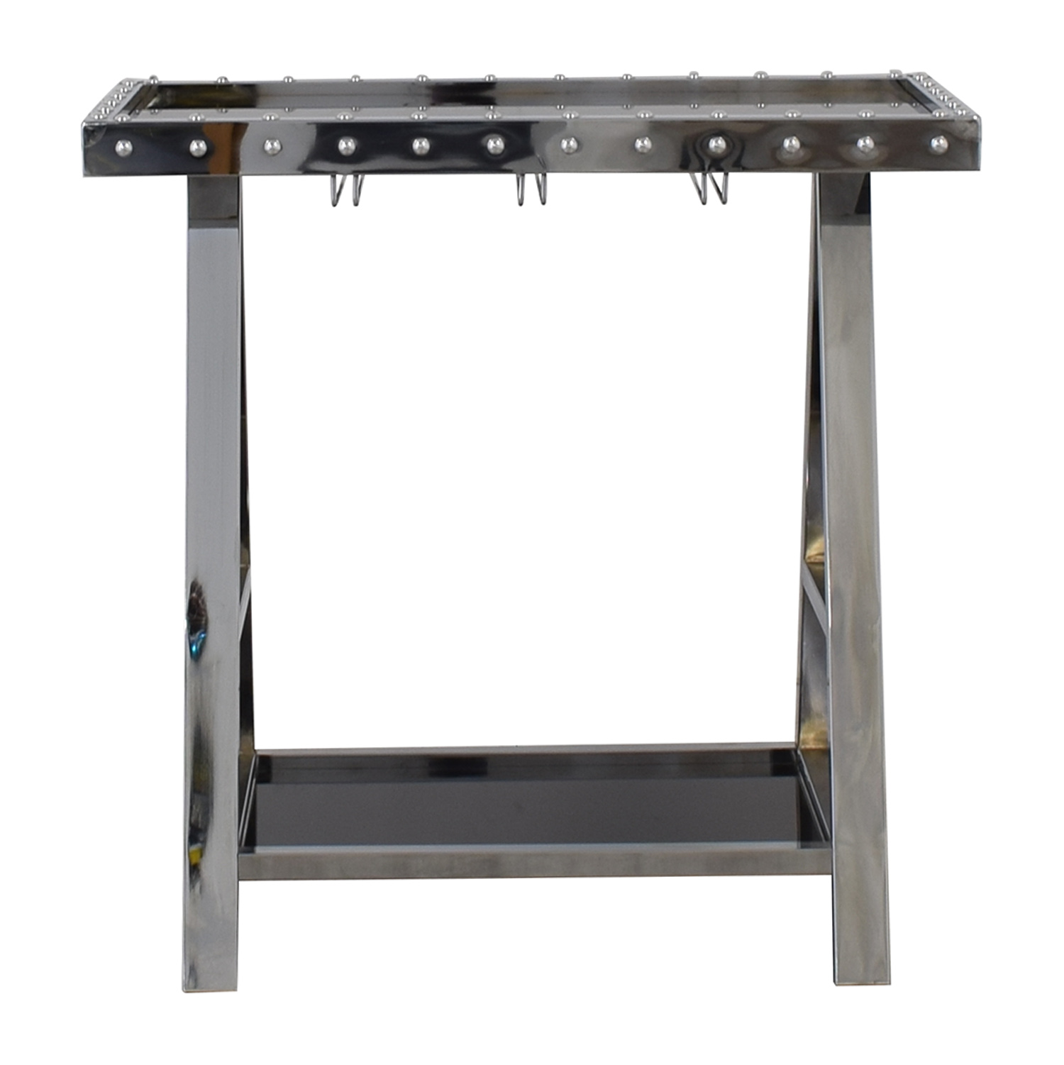 shop Z Gallerie Flight Bar Cart Z Gallerie Tables