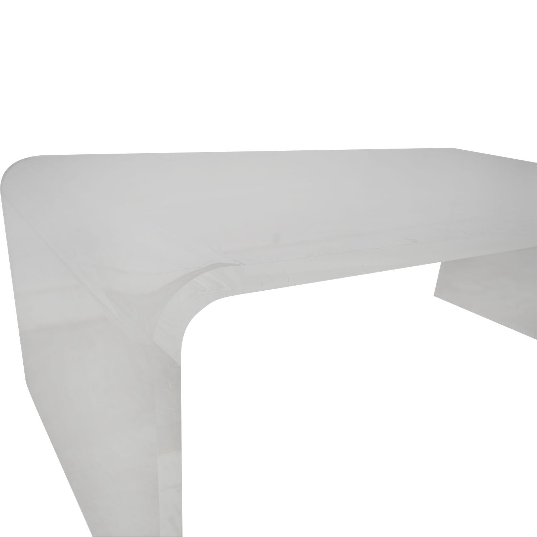 CB2 CB2 Peekaboo Acrylic Coffee Table price