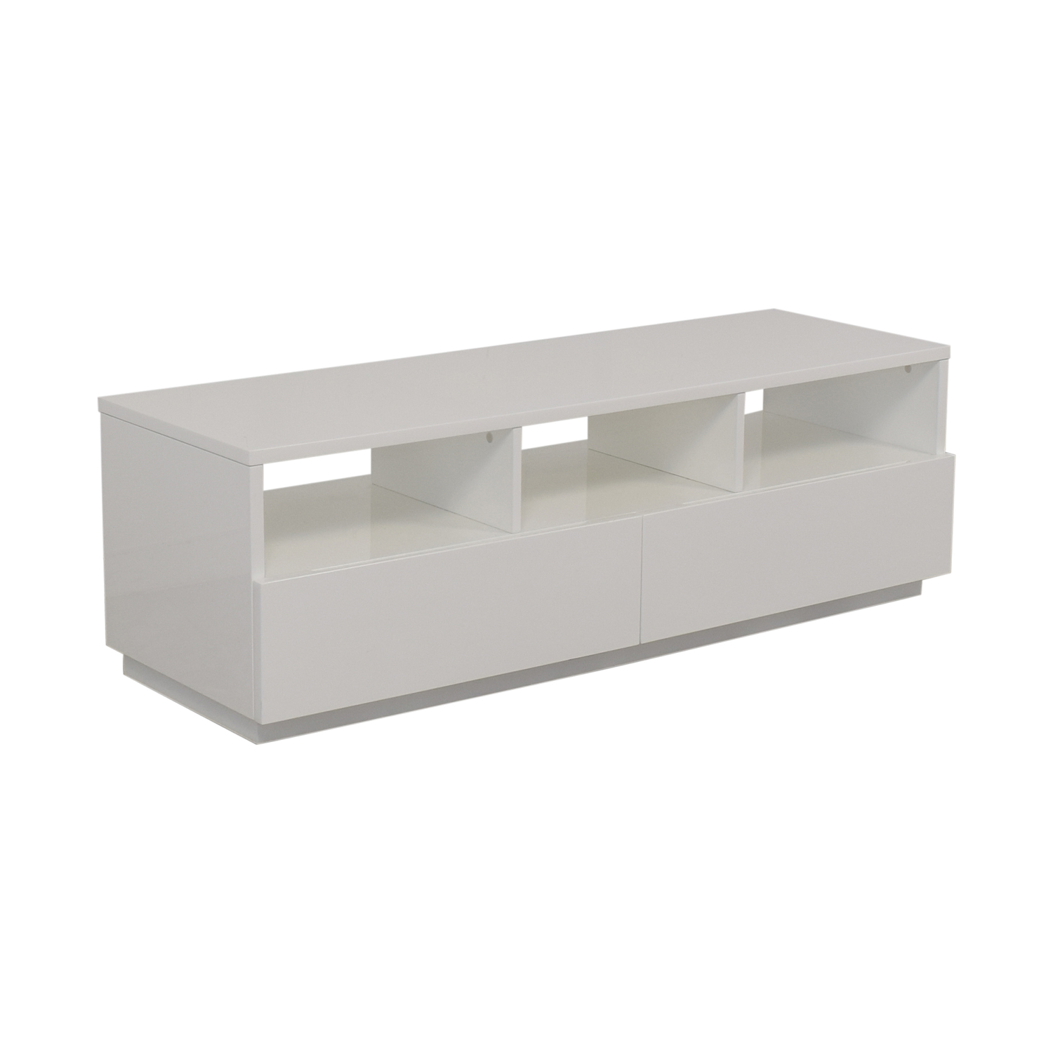 CB2 CB2 Chill White Media Console