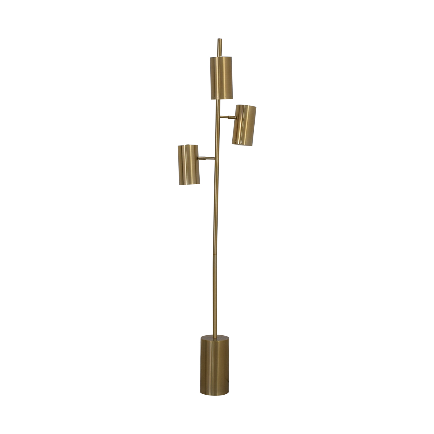 CB2 CB2 Brass Trio Floor Lamp used