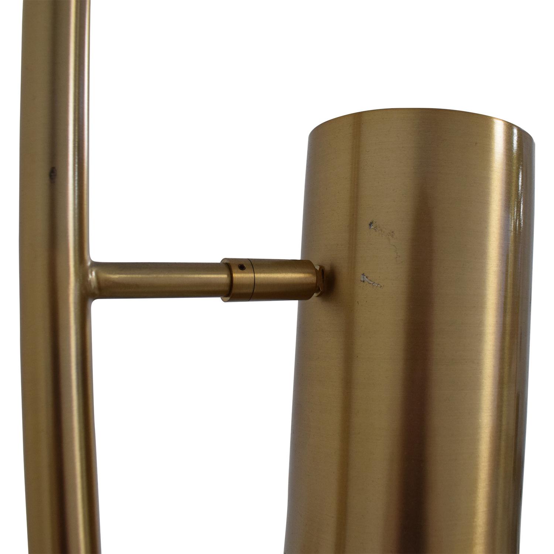 shop CB2 Brass Trio Floor Lamp CB2 Decor