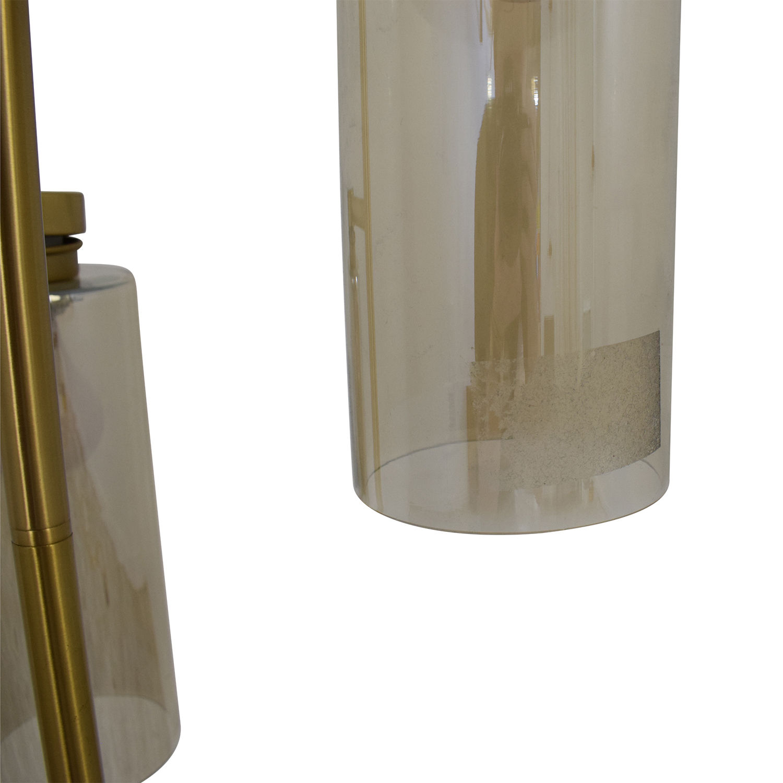 buy West Elm Glass Cylinder Floor Lamp West Elm Decor