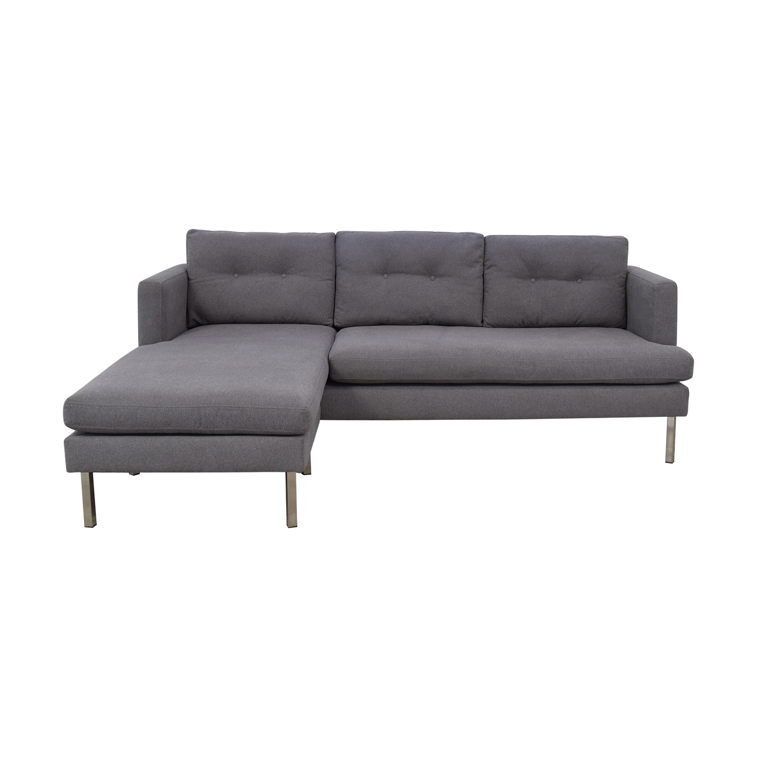 West Elm Adjustable Sectional / Sofas