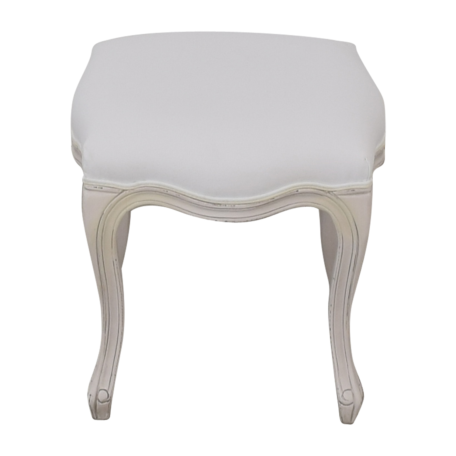 shop Restoration Hardware Sophie Upholstered Stool Restoration Hardware Stools