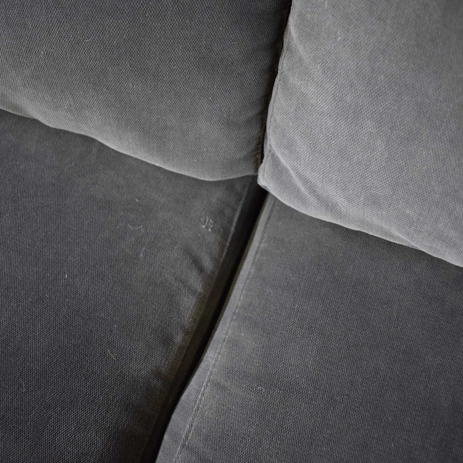 shop CB2 Charcoal Grey Sectional with Chaise CB2 Sectionals