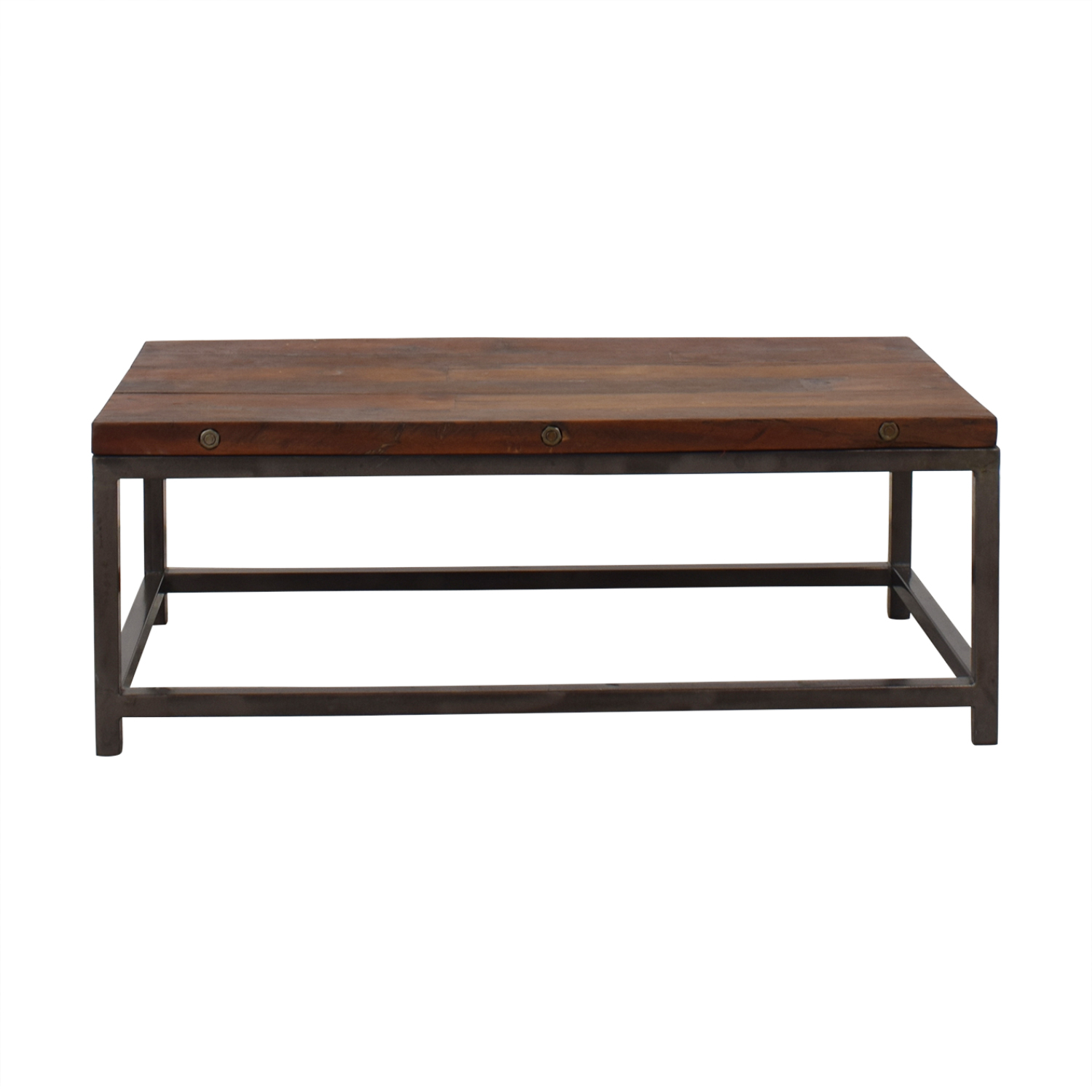 High Fashion Home High Fashion Home Oak Coffee Table second hand