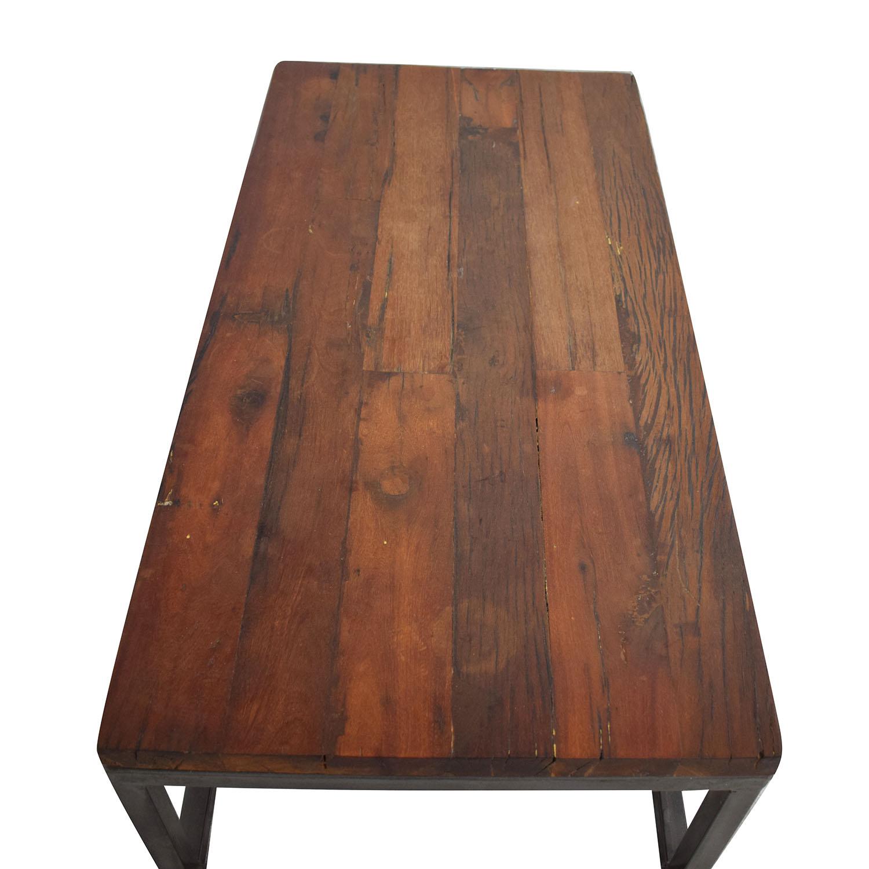 Miraculous 83 Off High Fashion Home High Fashion Home Oak Coffee Table Tables Machost Co Dining Chair Design Ideas Machostcouk