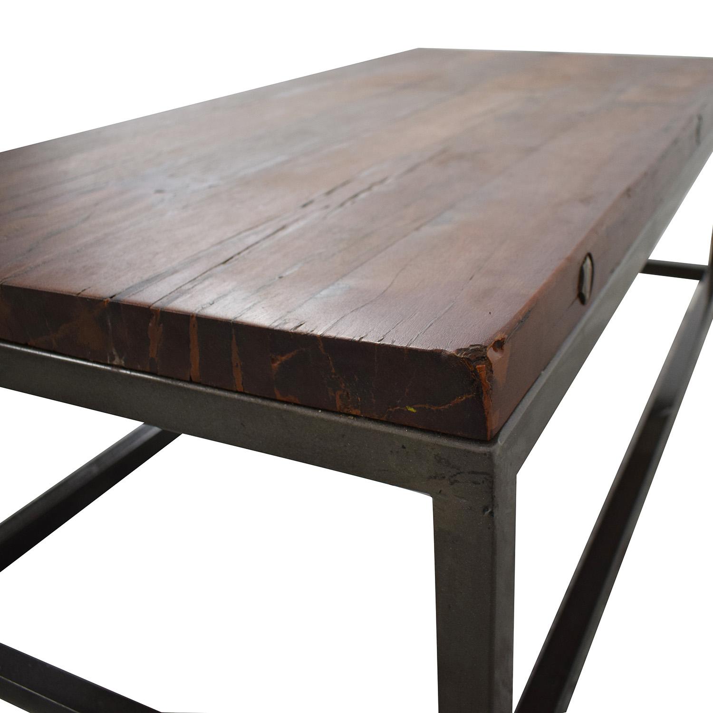 buy High Fashion Home Oak Coffee Table High Fashion Home
