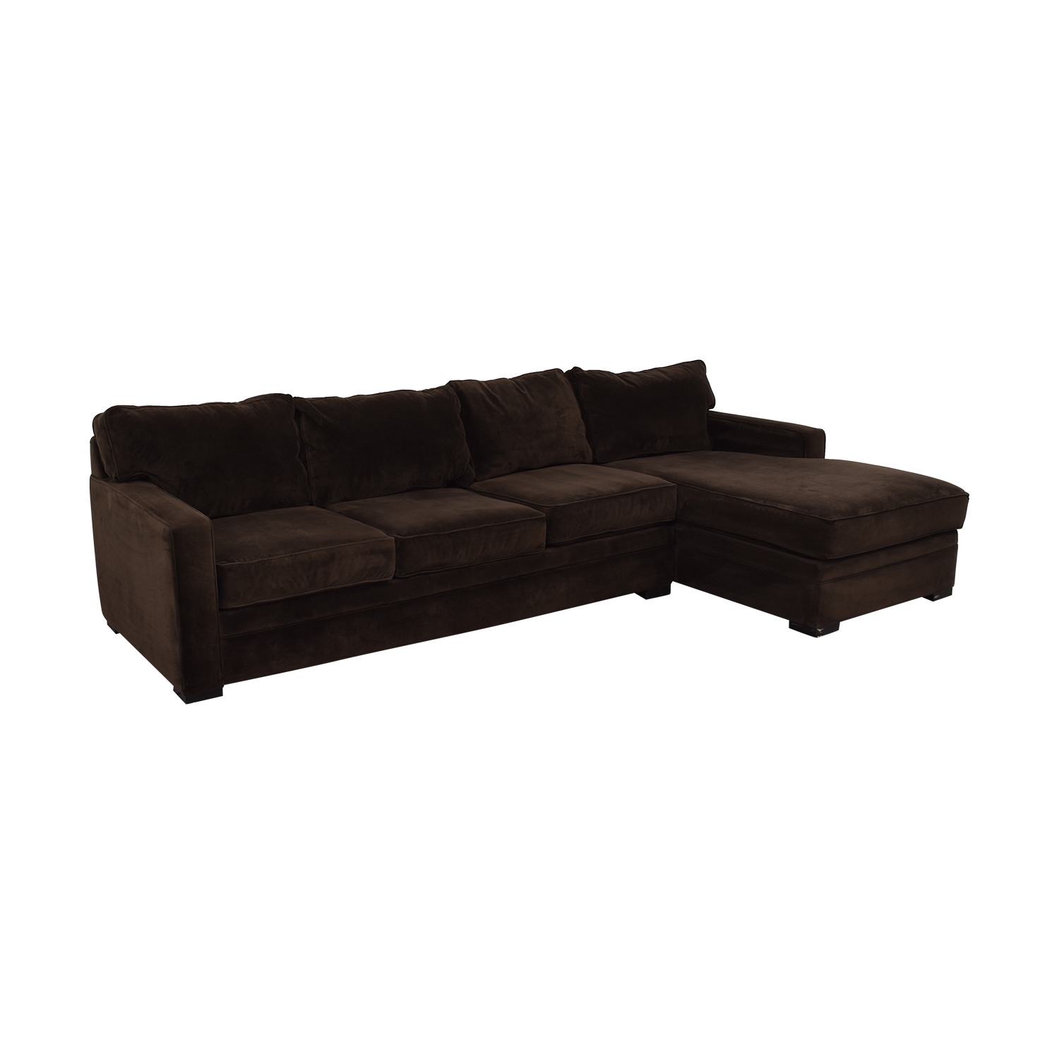 Star Furniture Star Furniture Juno Raf Sectional Sofa with Chaise on sale