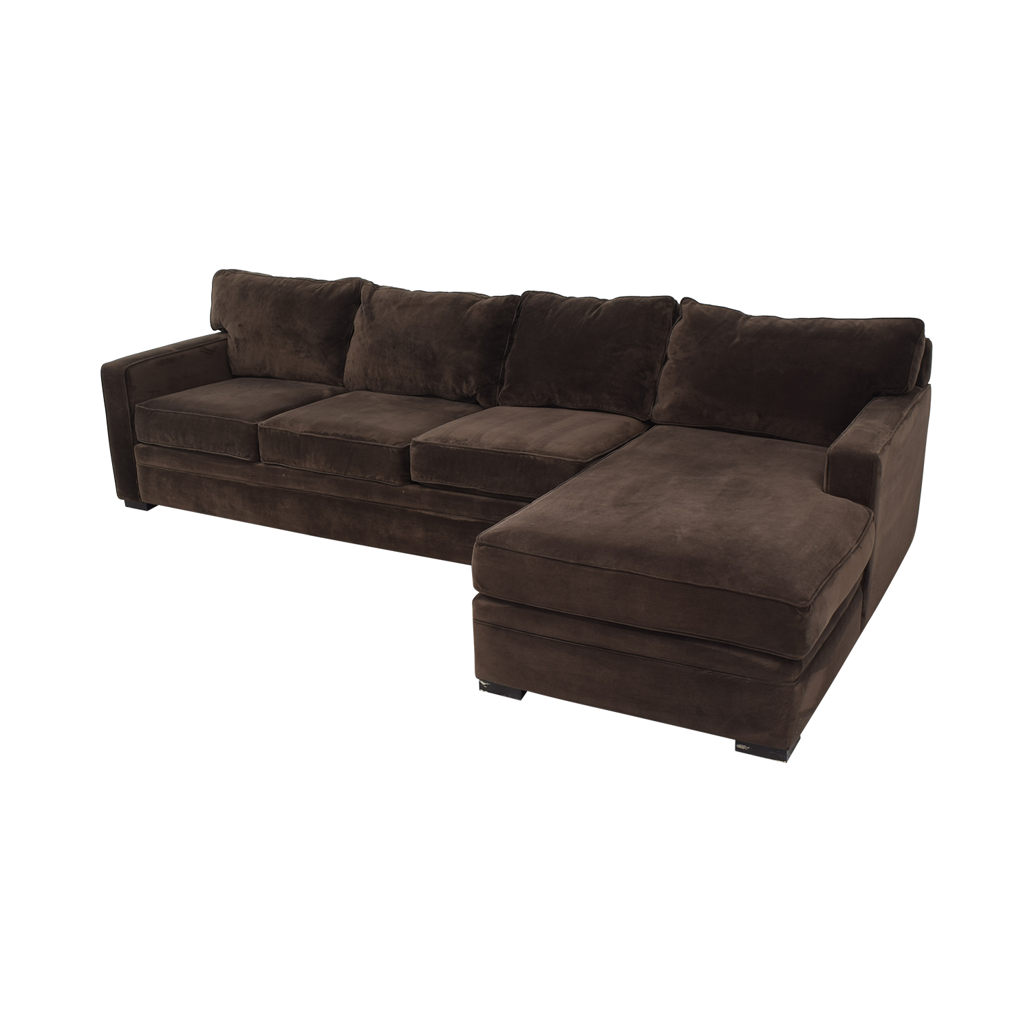 Star Furniture Star Furniture Juno Raf Sectional Sofa with Chaise second hand