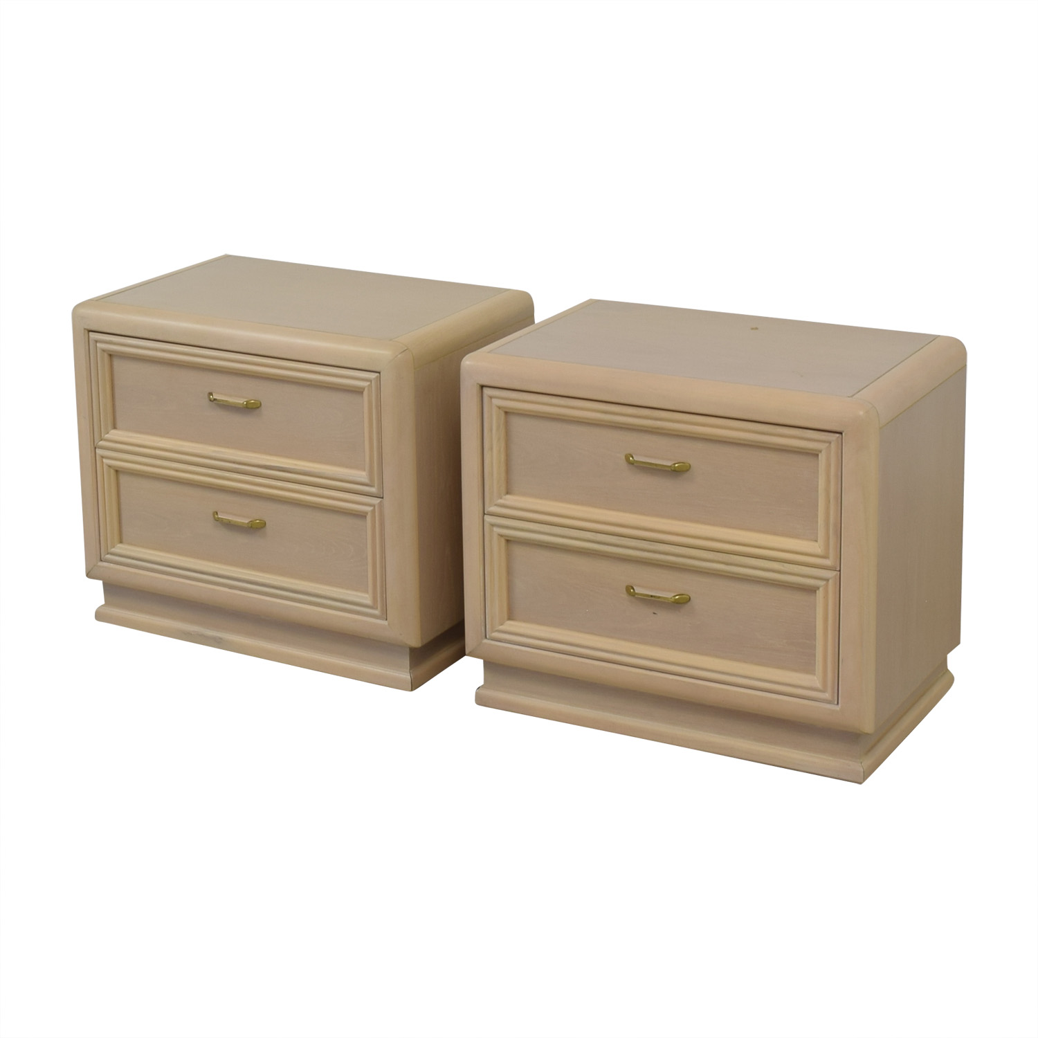 Thomasville Two Drawer Nightstands / Tables