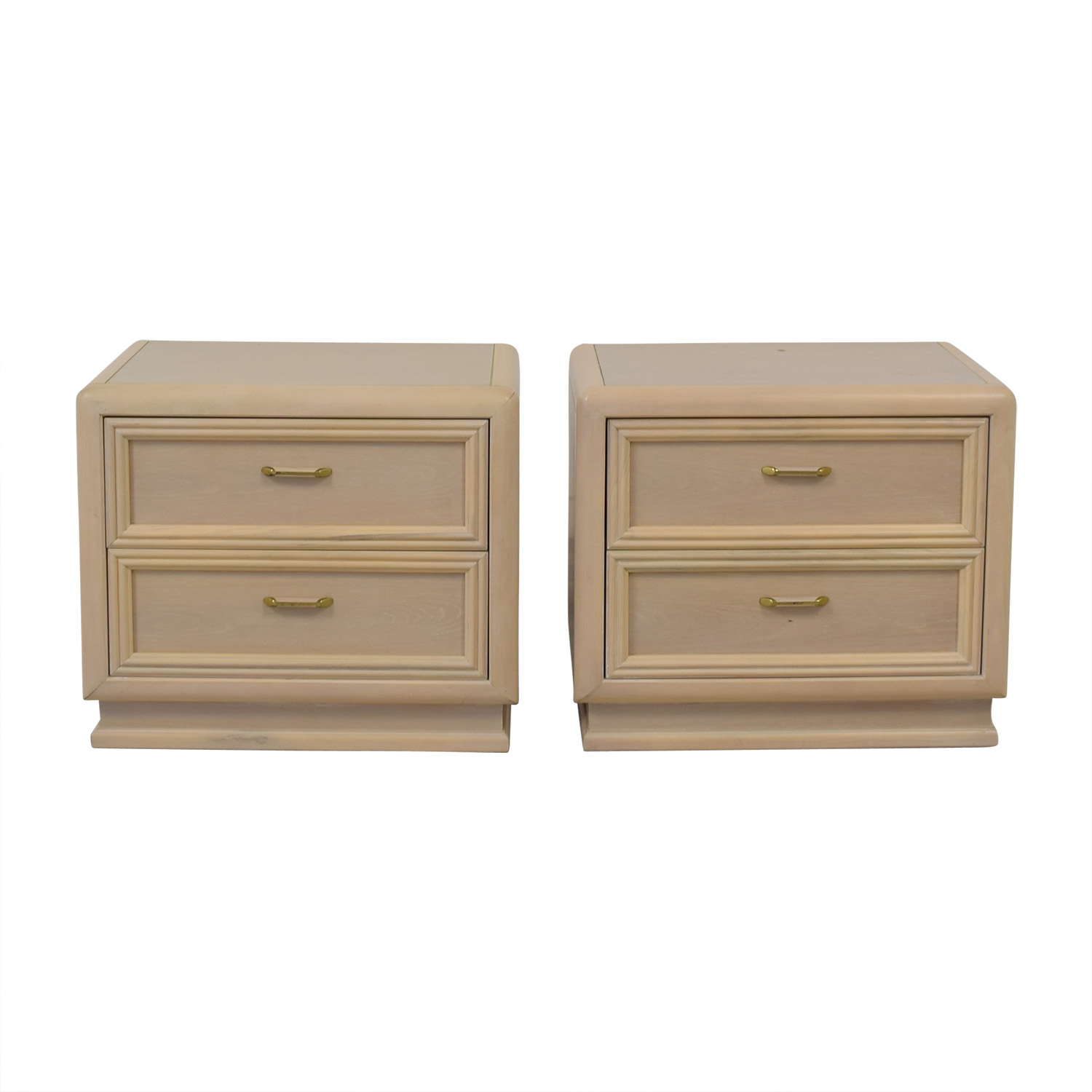 buy Thomasville Two Drawer Nightstands Thomasville