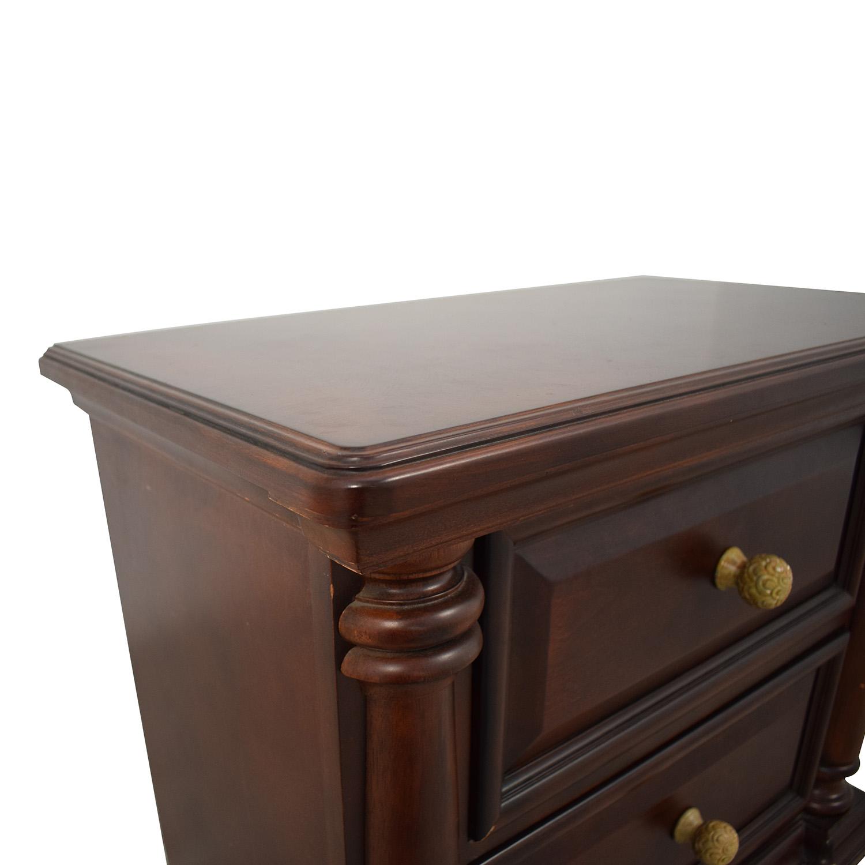 Macy's Macy's Wood Nightstand Tables