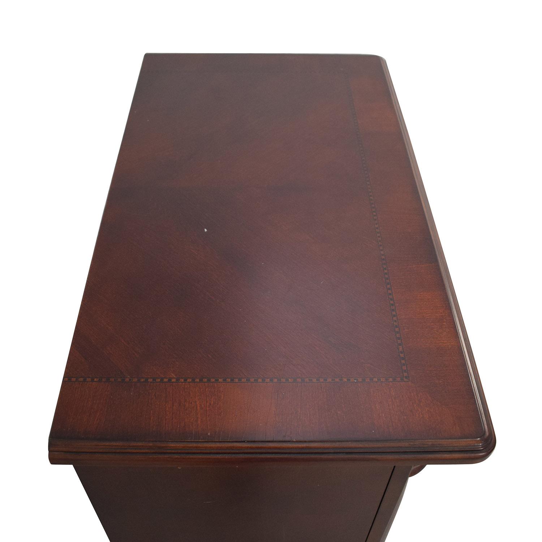 Macy's Macy's Wood Nightstand used