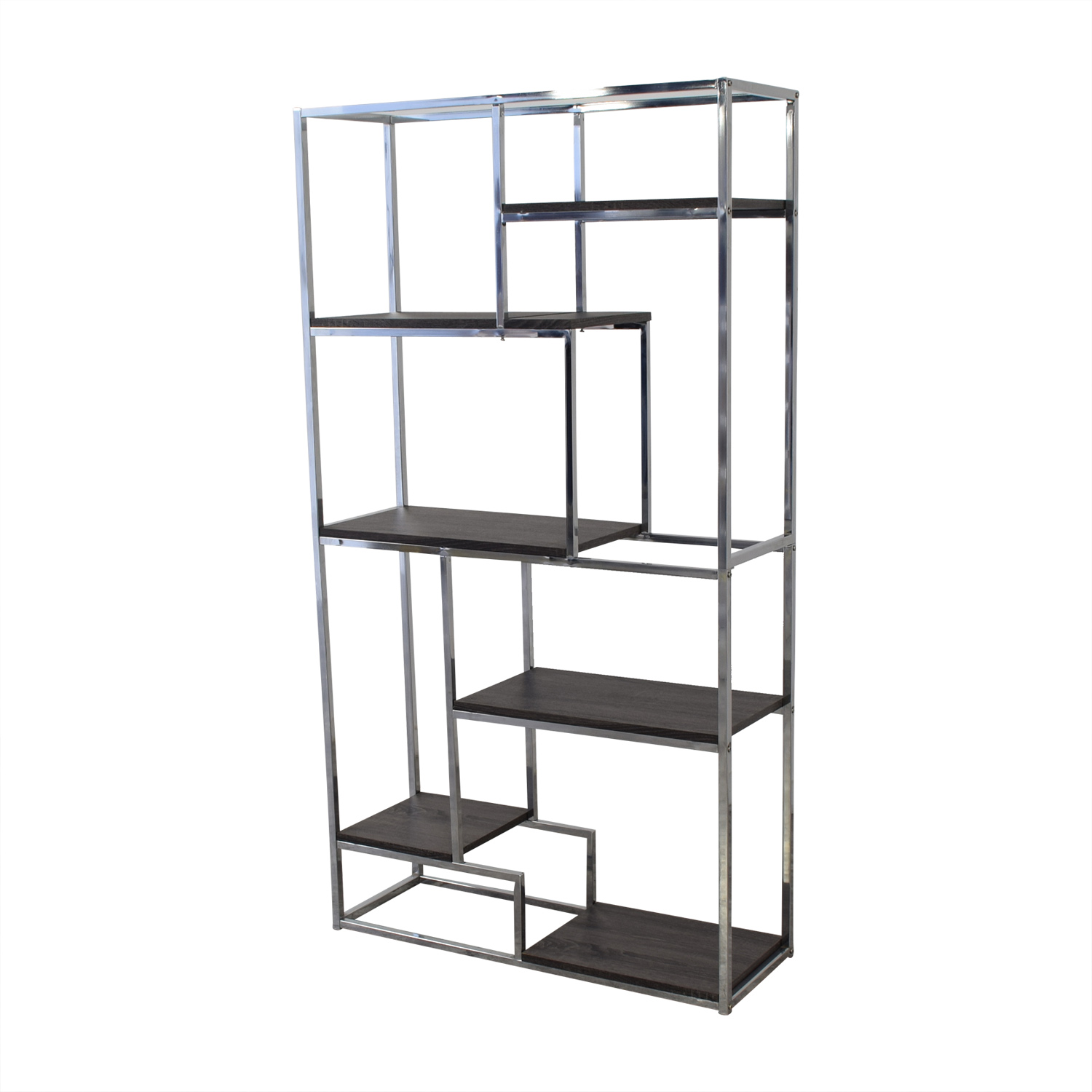 Overstock Overstock Silver Orchard Six Bookshelves Storage