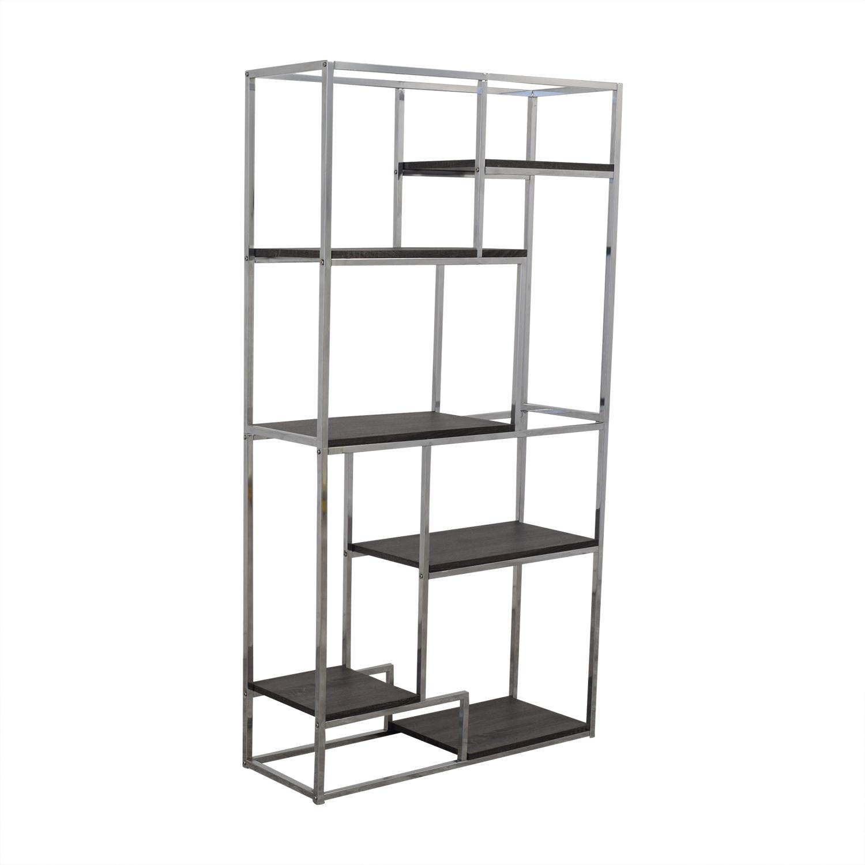 Overstock Overstock Silver Orchard Six Bookshelves Bookcases & Shelving