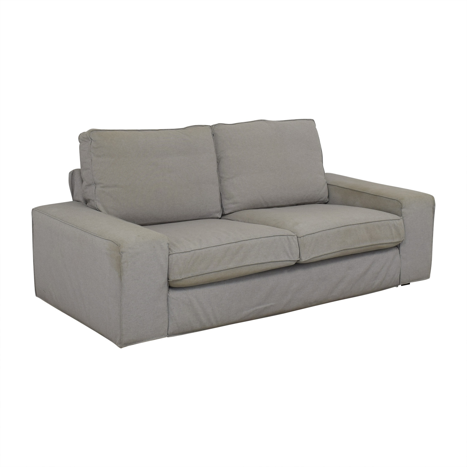 IKEA IKEA Kivik Light Grey Sofa discount
