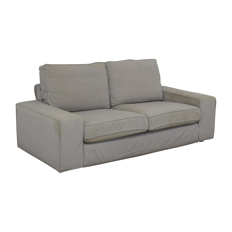 Awesome 76 Off Ikea Ikea Kivik Light Grey Sofa Sofas Pabps2019 Chair Design Images Pabps2019Com