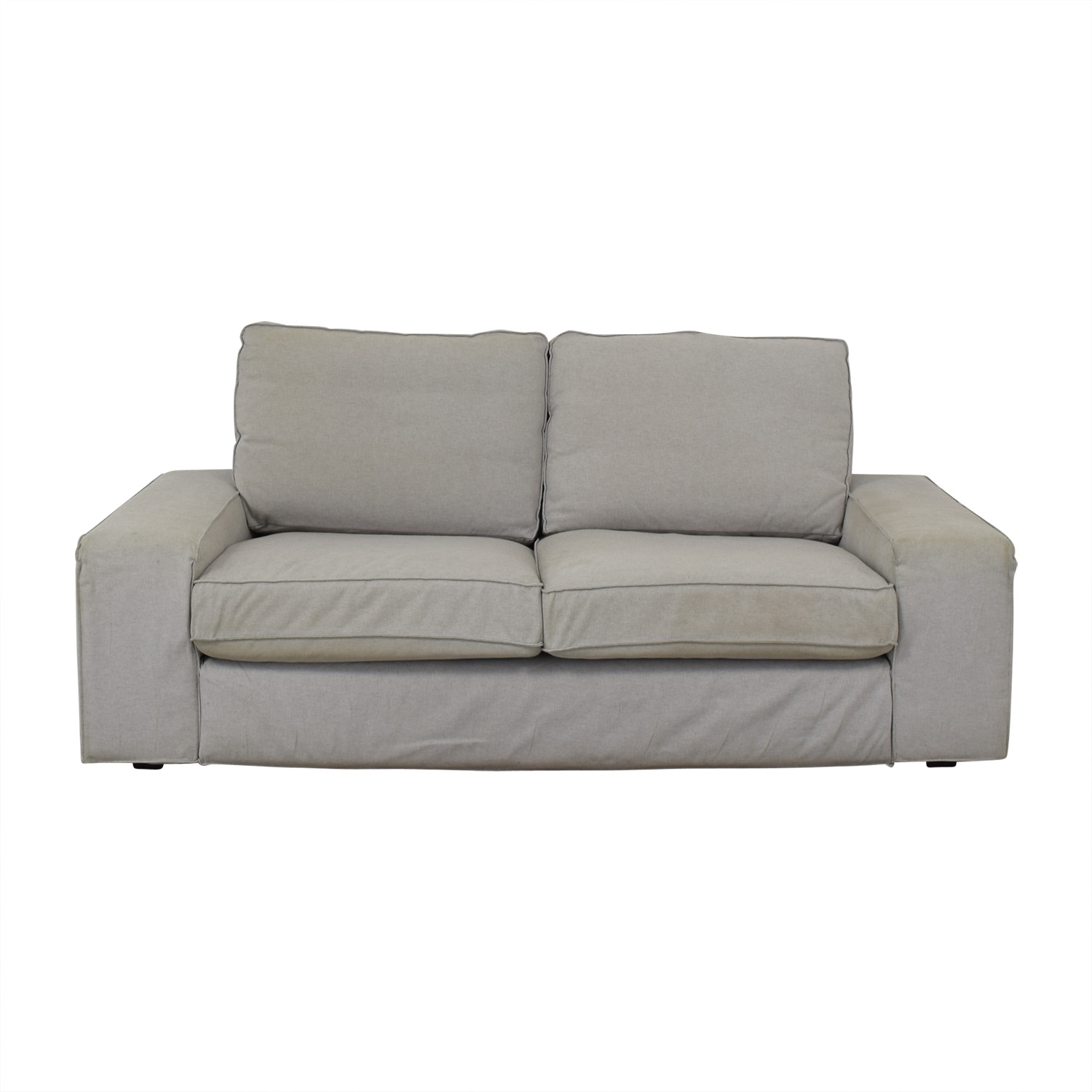 IKEA IKEA Kivik Light Grey Sofa Loveseats