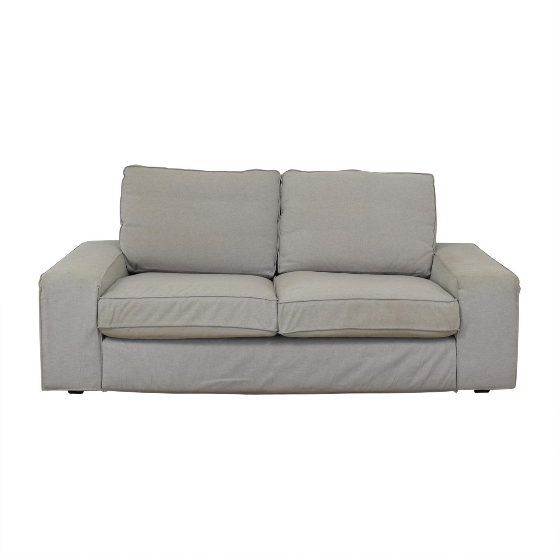 IKEA IKEA Kivik Light Grey Sofa Loveseats