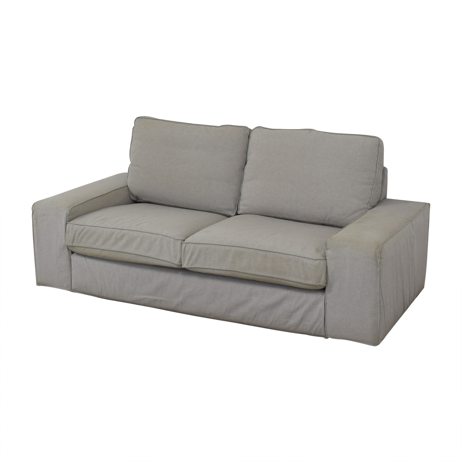 shop IKEA Kivik Light Grey Sofa IKEA Sofas