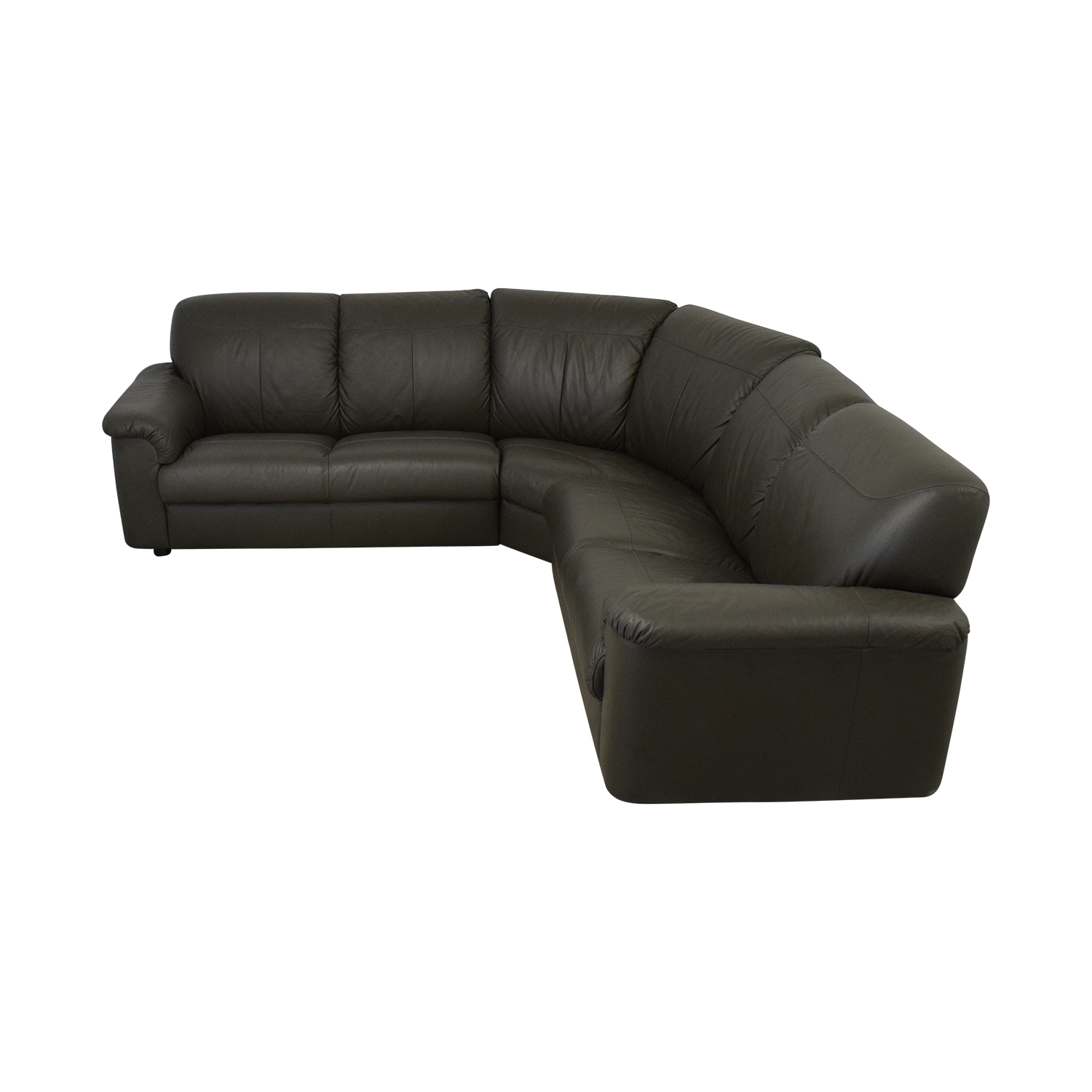 IKEA IKEA Timsfors Leather Sectional nyc
