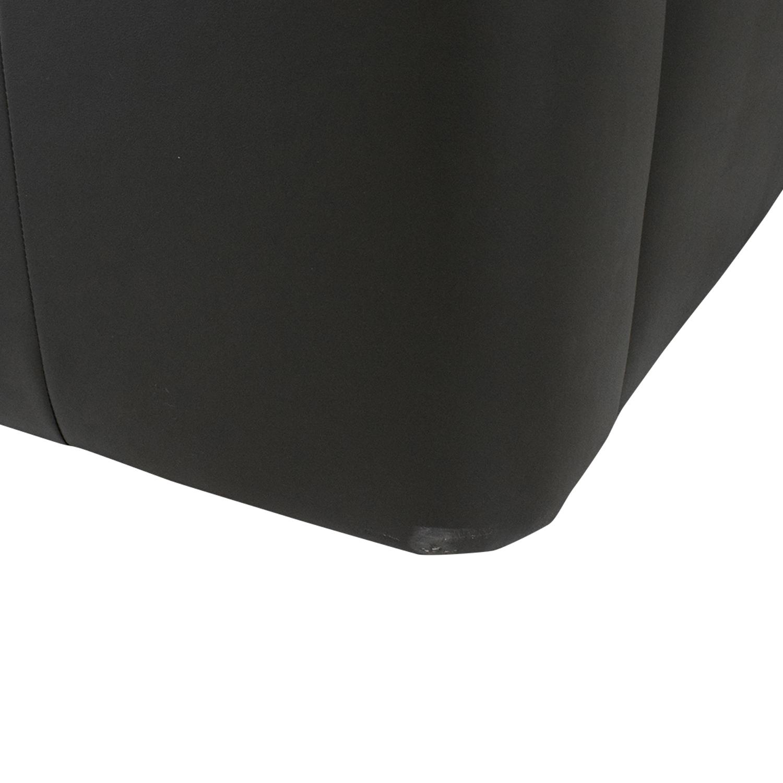 IKEA IKEA Timsfors Leather Sectional black