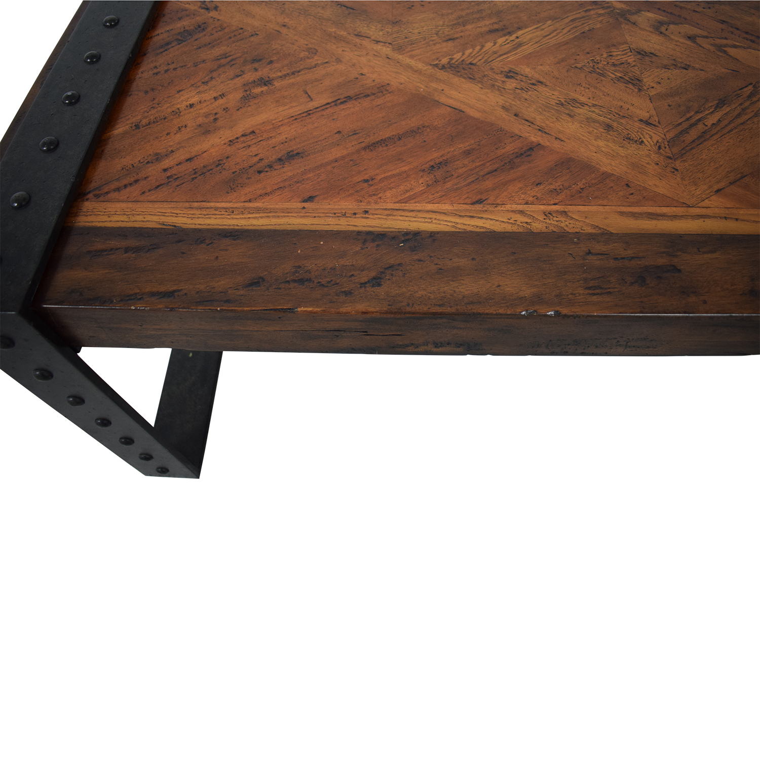 Theodore Alexander Theodore Alexander Industrial Style Coffee Table brown & black