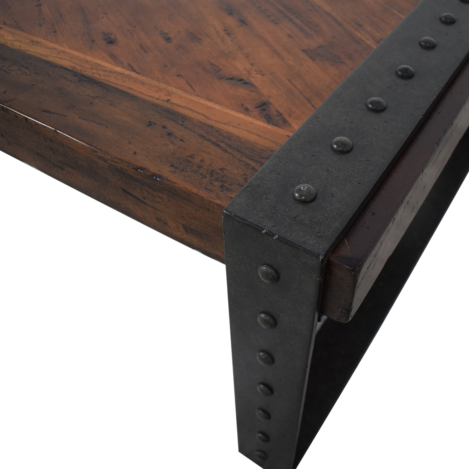 Theodore Alexander Industrial Style Coffee Table / Tables