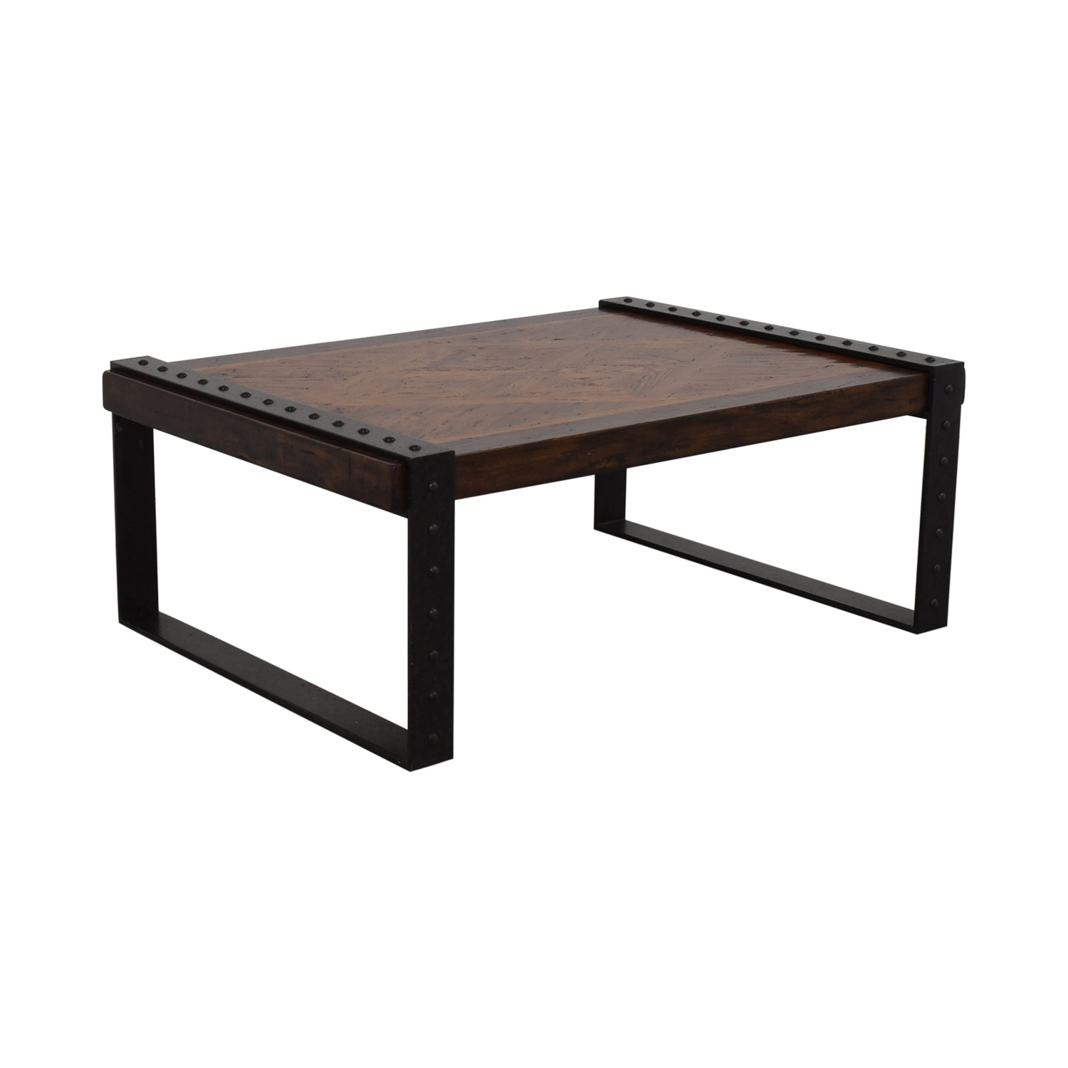Theodore Alexander Industrial Style Coffee Table / Coffee Tables