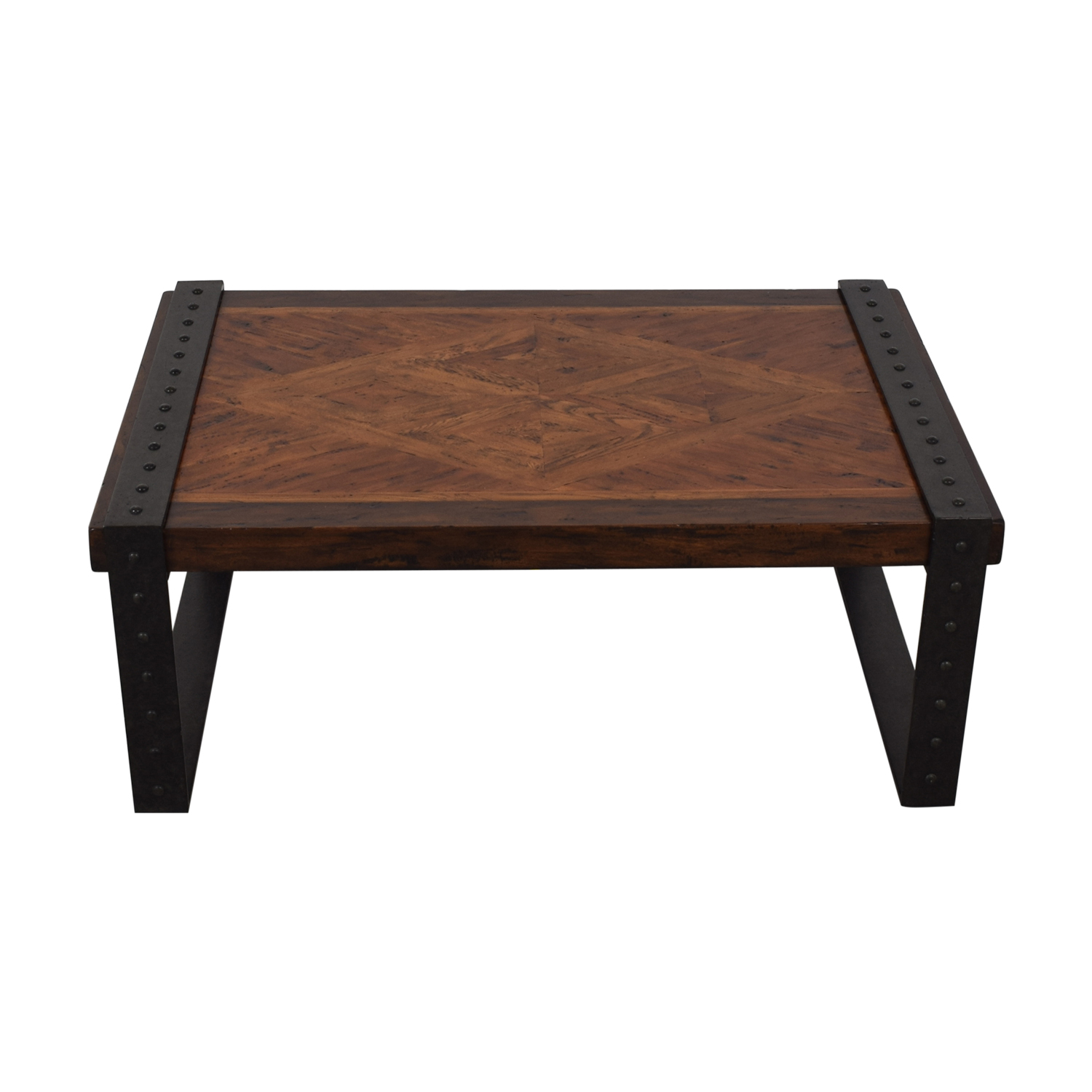 buy Theodore Alexander Industrial Style Coffee Table Theodore Alexander