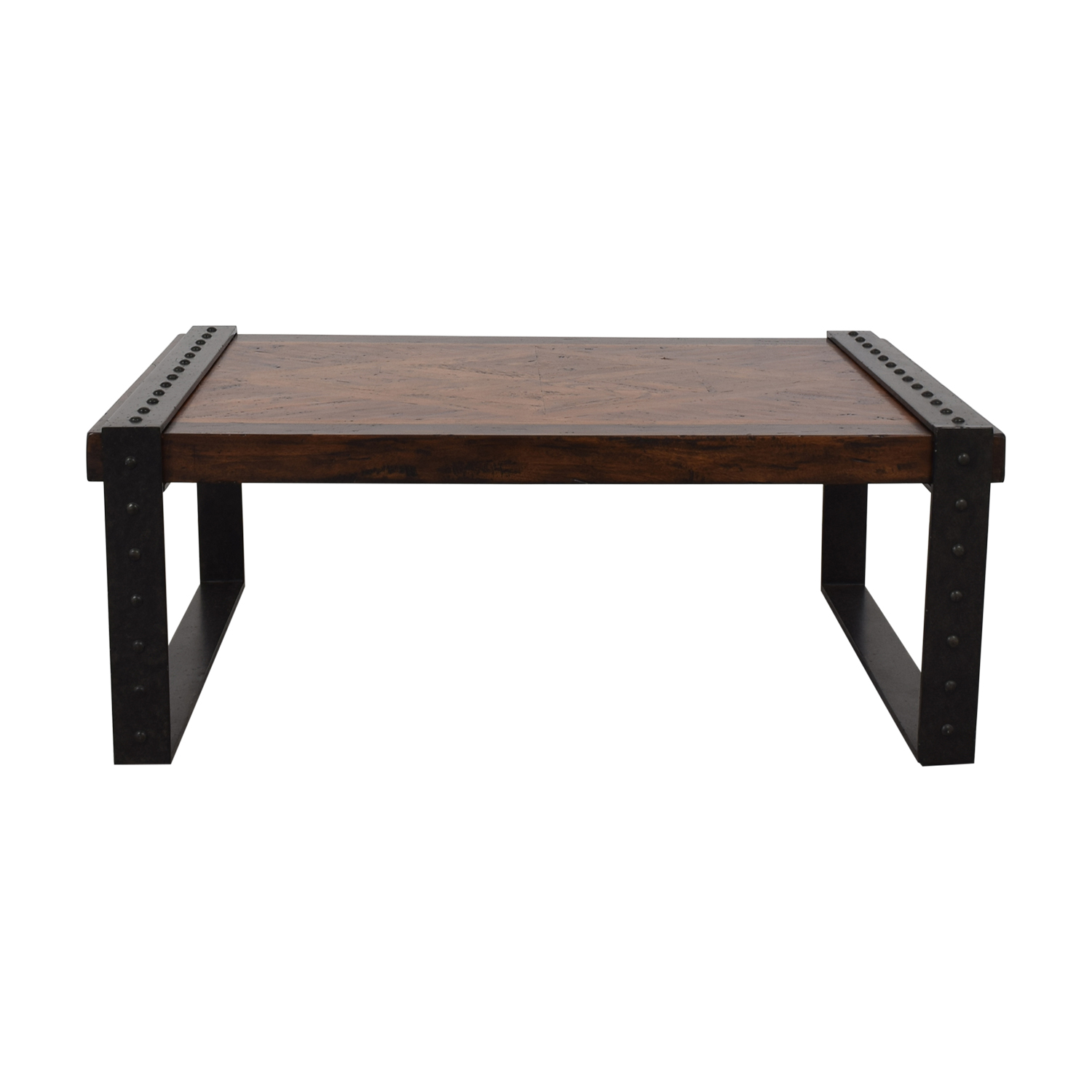 Theodore Alexander Theodore Alexander Industrial Style Coffee Table nyc