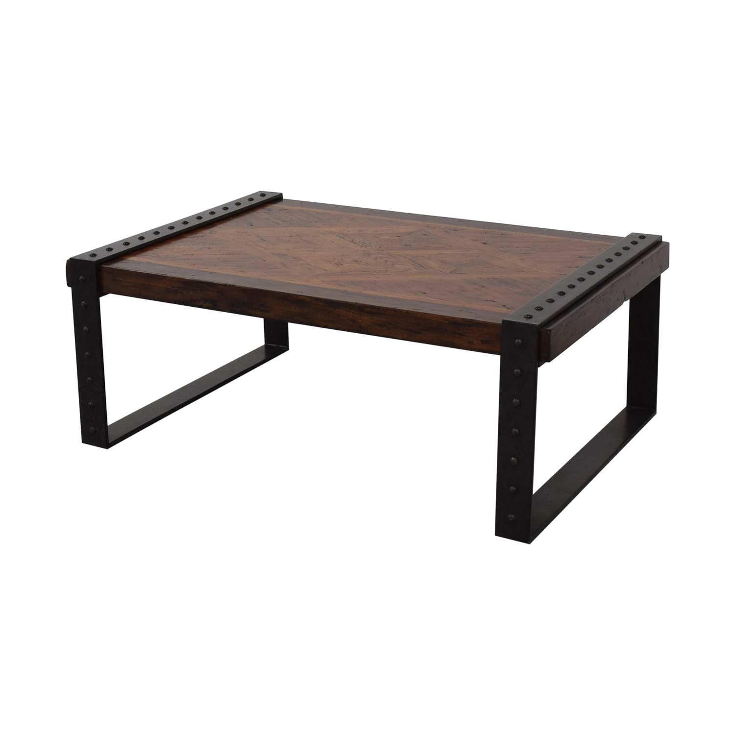 Theodore Alexander Theodore Alexander Industrial Style Coffee Table price