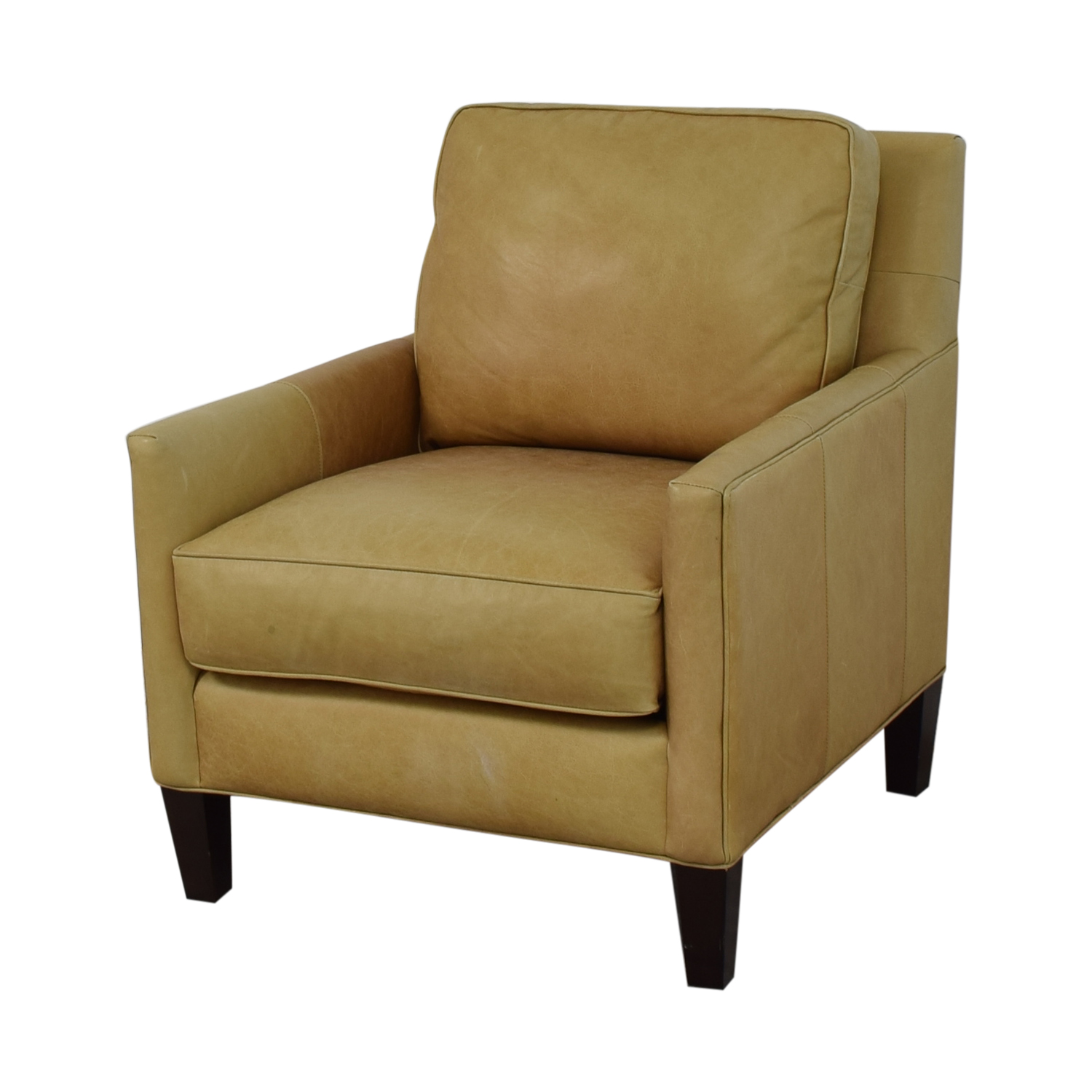 Astonishing 86 Off Thomasville Thomasville Leather Armchair Chairs Short Links Chair Design For Home Short Linksinfo